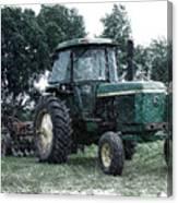 Farming John Deere 4430 Pa 01 Canvas Print
