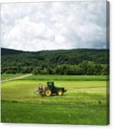 Farming New York State Before The July Storm 03 Canvas Print