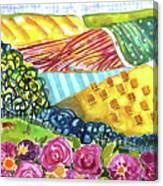Farming Patterns Canvas Print