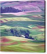 Farmland Colors - No. 1 Canvas Print