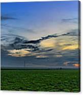 Farmland Panorama Canvas Print