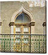 Faro Balcony Canvas Print