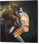Farret Guitarist Canvas Print
