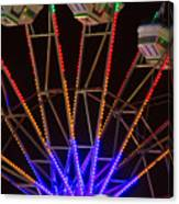Farris Wheel Close-up Canvas Print