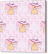 Fashion Pattern Canvas Print