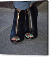 Fashionable Feet Canvas Print