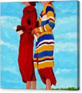 Fashionable Ladies Canvas Print