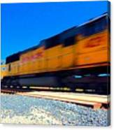 Fast Freight Canvas Print