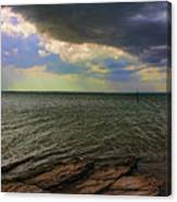 Fast Moving Storm Canvas Print