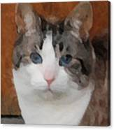 Fat Cats Of Ballard 3 Canvas Print
