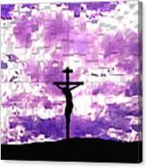 Father Forgive Them Canvas Print