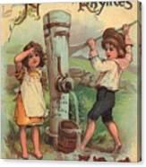 Father Tucks Nursery Rhymes Canvas Print