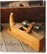 Fathers Day Tools Canvas Print