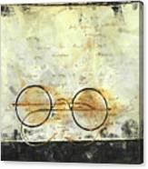 Father's Glasses Canvas Print