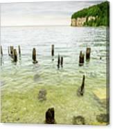 Fayette State Park Shoreline Canvas Print