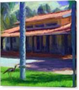 Farm Main House 1 Canvas Print