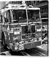 fdny engine New York City USA Canvas Print