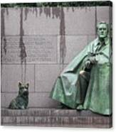 Fdr Memorial - Neither New Nor Order Canvas Print