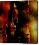 Fear On The Dark Canvas Print