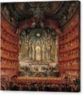 Feast Given By Cardinal De La Rochefoucauld  Canvas Print
