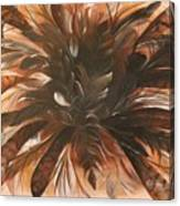 Feather Bloom Canvas Print