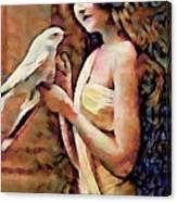 Feathered Confidant Canvas Print