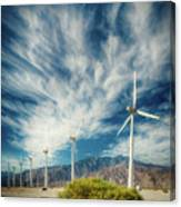 Feathers In The Sky Canvas Print