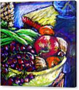 February Still Life In Angelinas Kitchen 1 Canvas Print