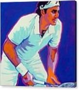 Federer Canvas Print