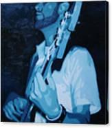 Feelin' The Bass Canvas Print