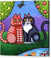 Feeling Koi Canvas Print