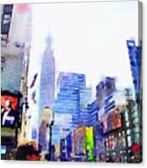Feeling New York Canvas Print