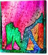 Feelings Explosion V3 Canvas Print