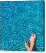 Feet Around The World #19 Canvas Print