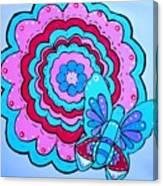 Felicity's Flower Canvas Print