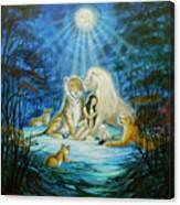 Feline Family... Love Canvas Print