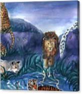 Feline Origins Canvas Print