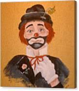 Felix The Clown Canvas Print