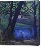 Felkers Falls, Stoney Creek, On Canvas Print