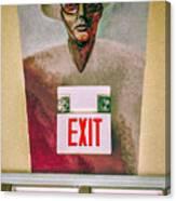 Fellini's Exit - Nola Canvas Print