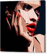 Female Expressions Liv Canvas Print