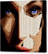 Female Expressions Lvi Canvas Print