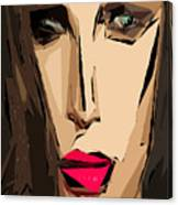 Female Expressions Xiv Canvas Print