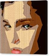 Female Expressions Xlviii Canvas Print
