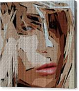 Female Expressions Xx Canvas Print