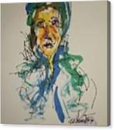 Female Face Study X Canvas Print