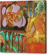 Female Mystic Canvas Print