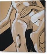 Female Nude Reclining Canvas Print