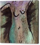 Female Nude Torso 1 Canvas Print
