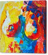 Female Torso Canvas Print